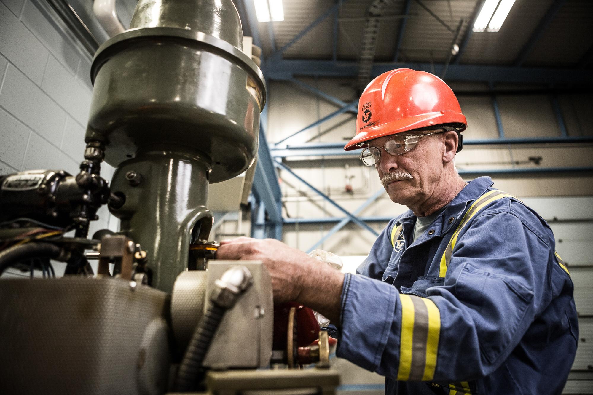 Industrial Portrait Photographer Canada