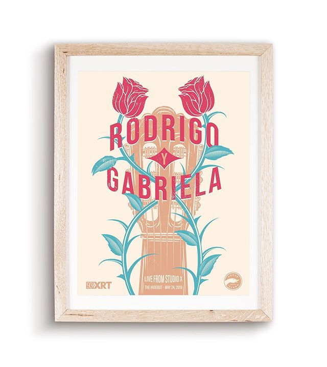 My poster for the XRT Rodrigo y Gabriela show today.
