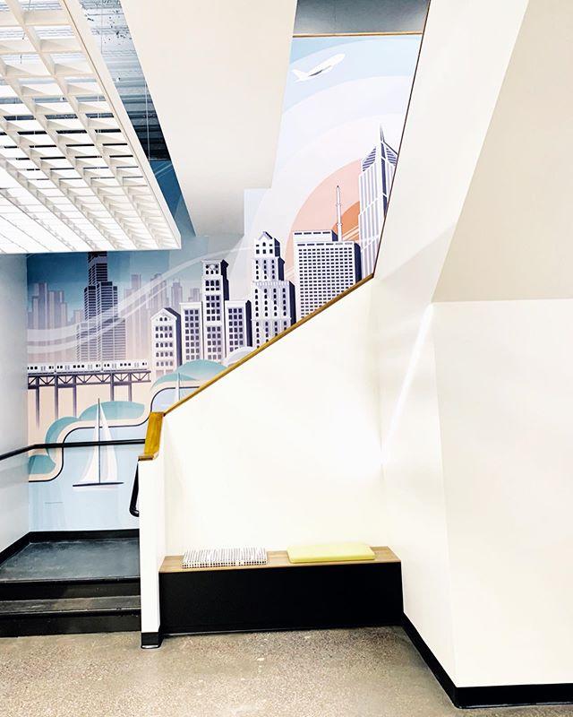 Had a lot of fun designing this mural for our newly remodeled RADIO.COM Chicago office. . . .  #illustrator #mural #chicago #artsy #vector #graphic #designinspiration #behance #coverart #instaartist #gfx #insta_chicago #graphicdesign #wacom #illustree #digitalart #slowroastedco #designarf #graphicgang #designspiration #simplycooldesign  #graphicdesigncentral #typetopia #dribbble #artoftheday #illustrationoftheday #architecture #interiordesign #radio #radiodotcom