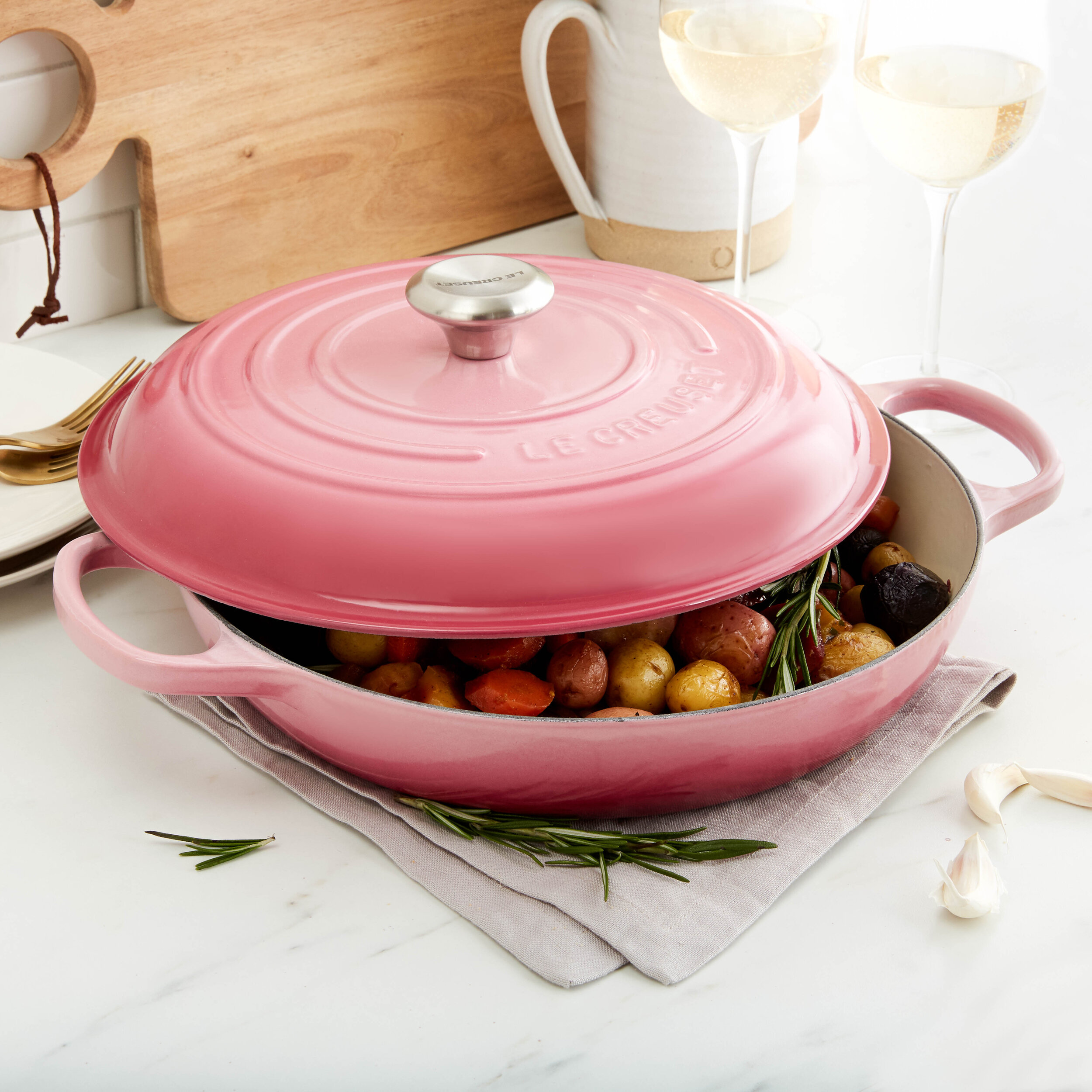 Le Creuset for Zola Product Imagery 2019