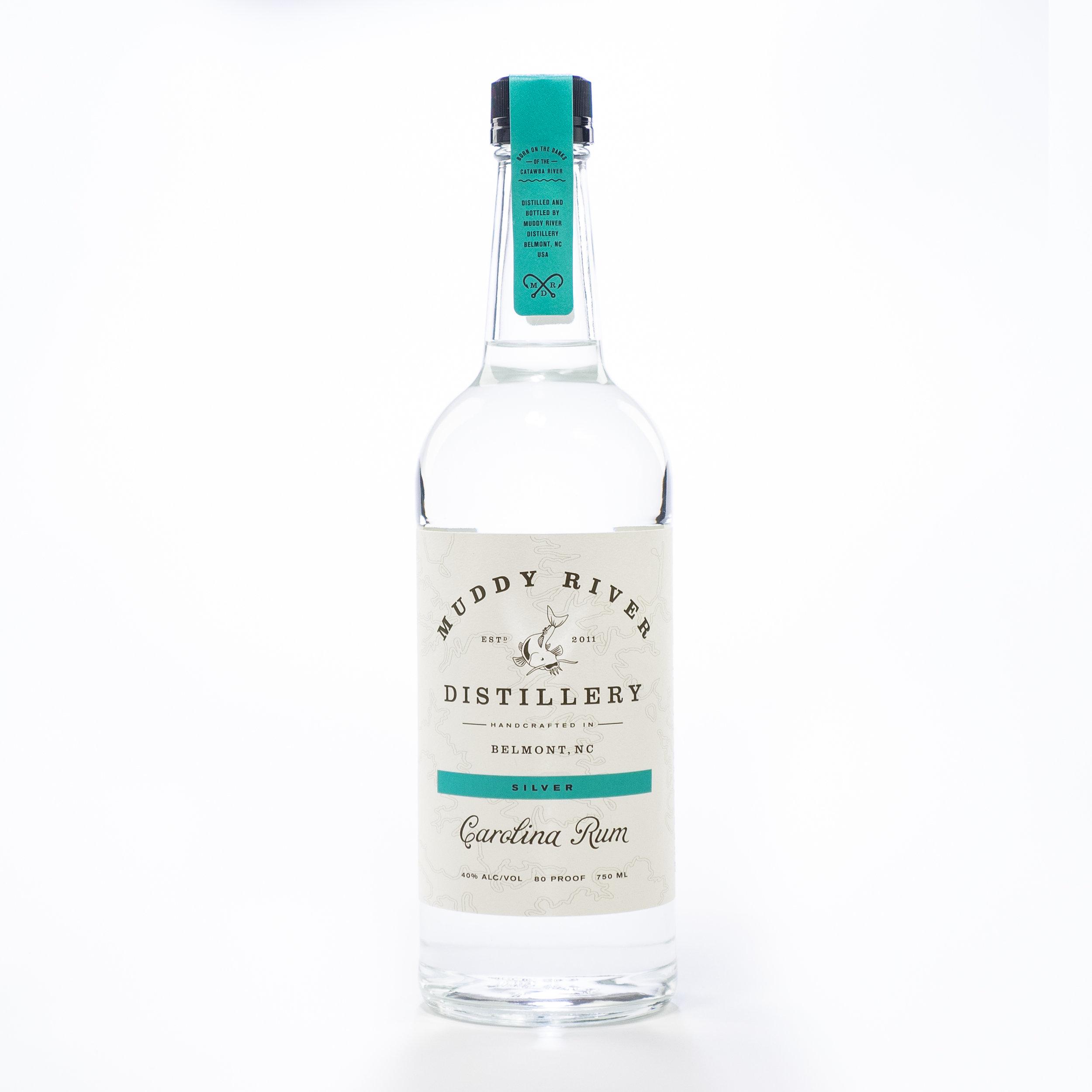 Muddy River Silver Carolina Rum