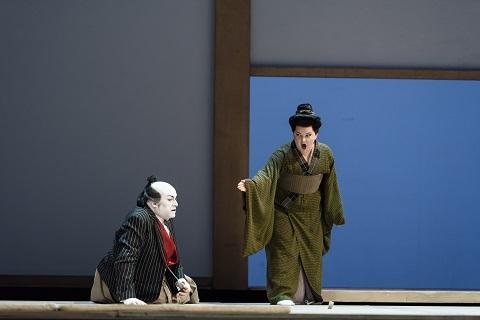 CARLO BOSI AS GORO, ELIZABETH DE SHONG AS SUZUKI (C) ROH. PHOTO BILL COOPER.jpg