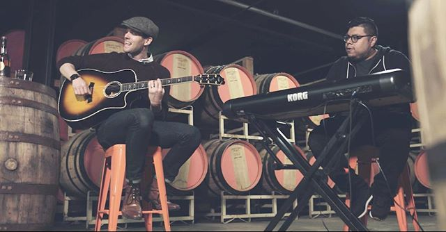 Just saw one of the live videos @jonbarahona and I did in collaboration with Crosley Records, @copperandkings and @shaughntillman.  Super pumped to share it with y'all!  #livemusic #brandy #distillery