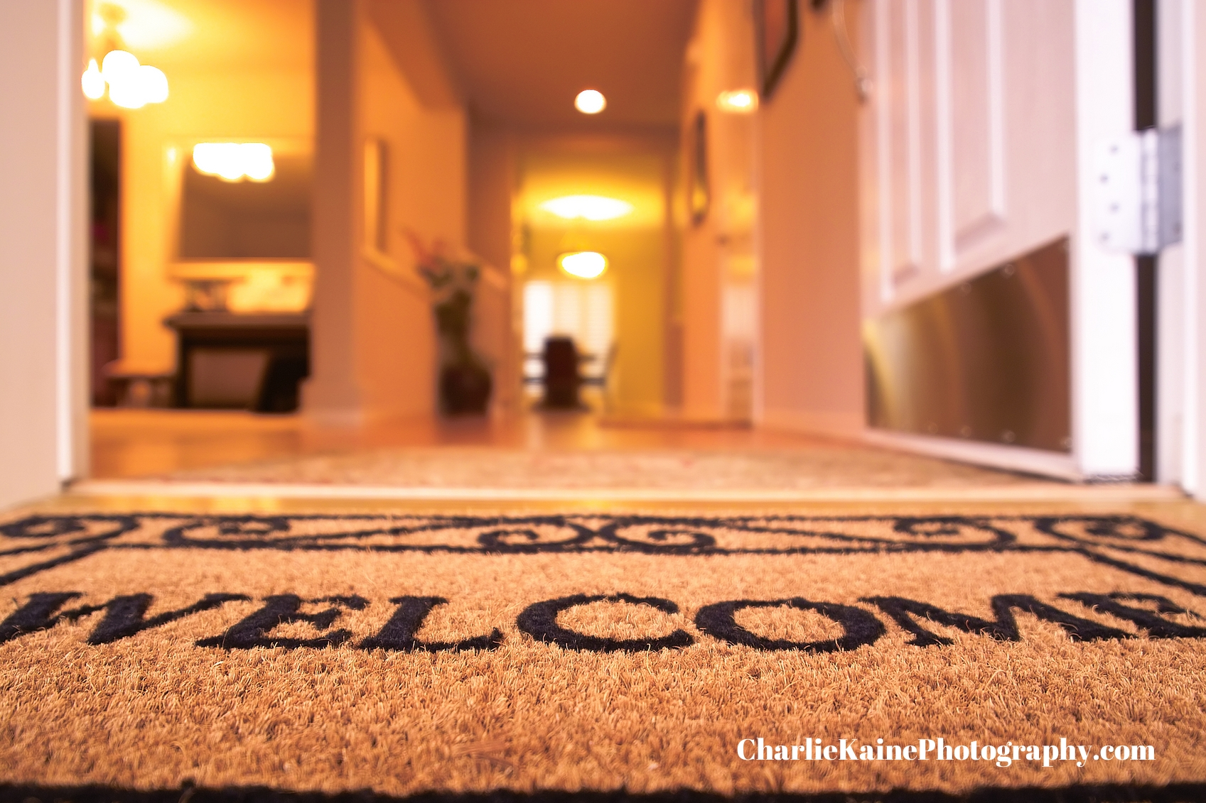 Welcome mat - Charlie Kaine Photography