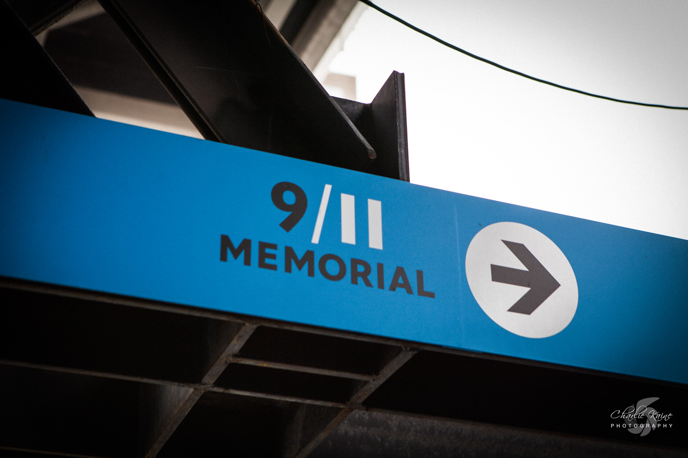 911 Memorial sign | Charlie Kaine Photography