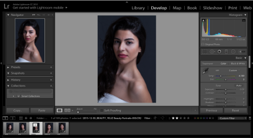 Editing in Lightroom