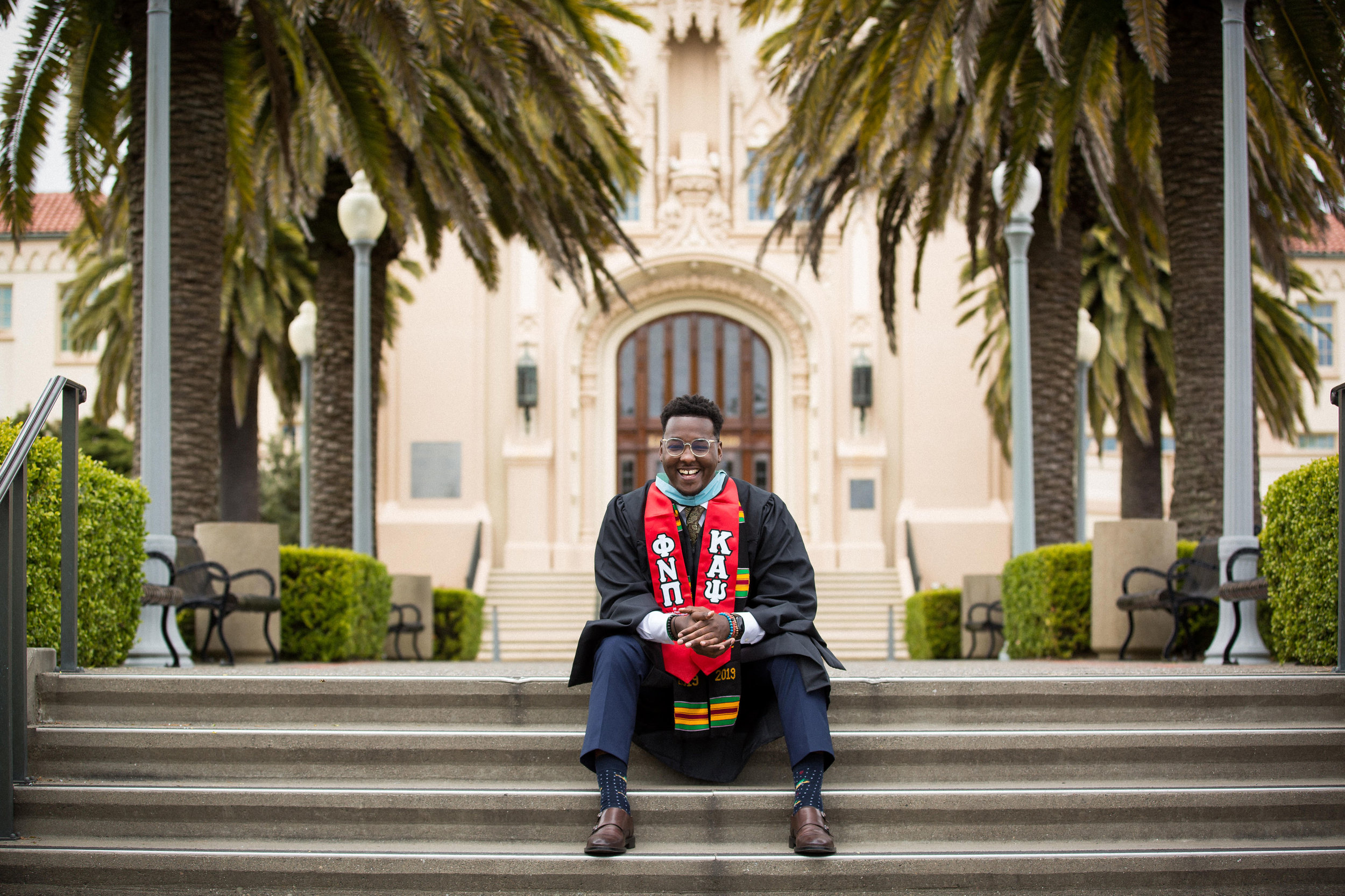 Charlie Kaine Photography | Graduation Portrait