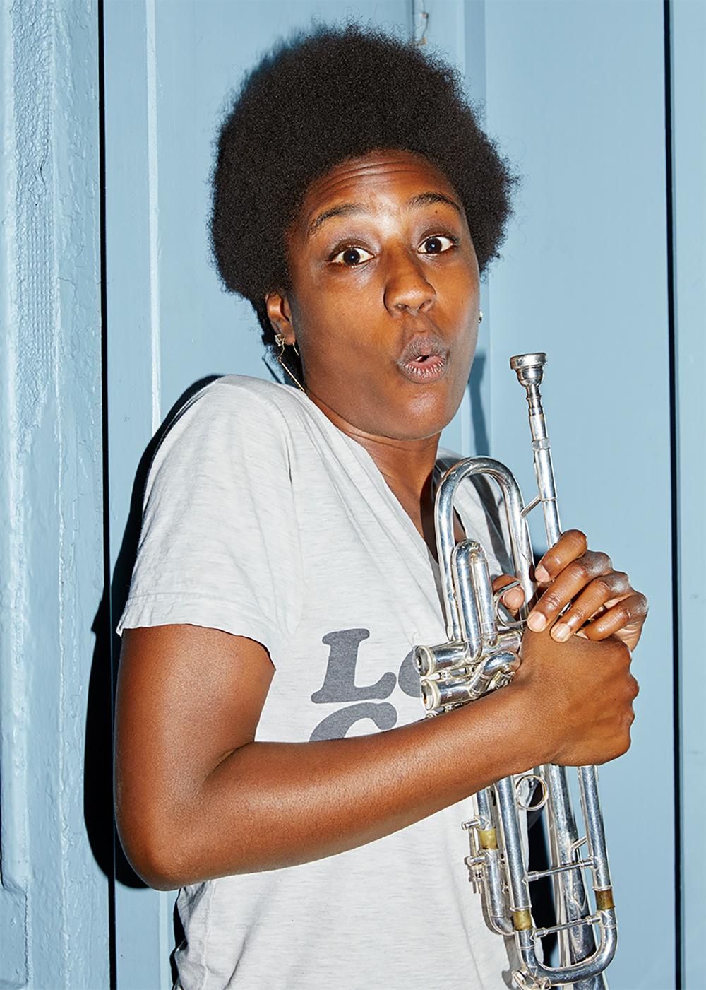 Trumpet Grrrl