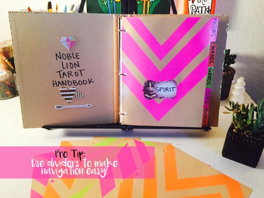 Noble Lion S Tarot Journal Printable Tarot Cards Noble