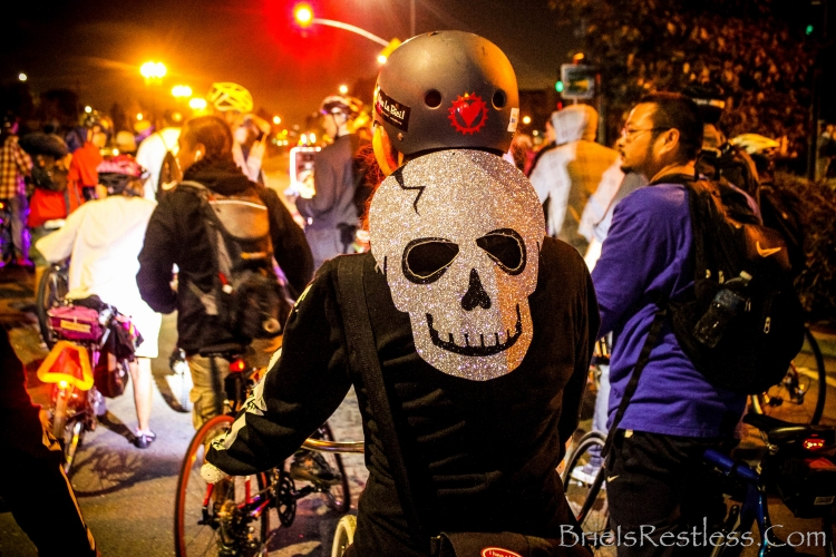 East Bay Bike Party Oakland California October 2014