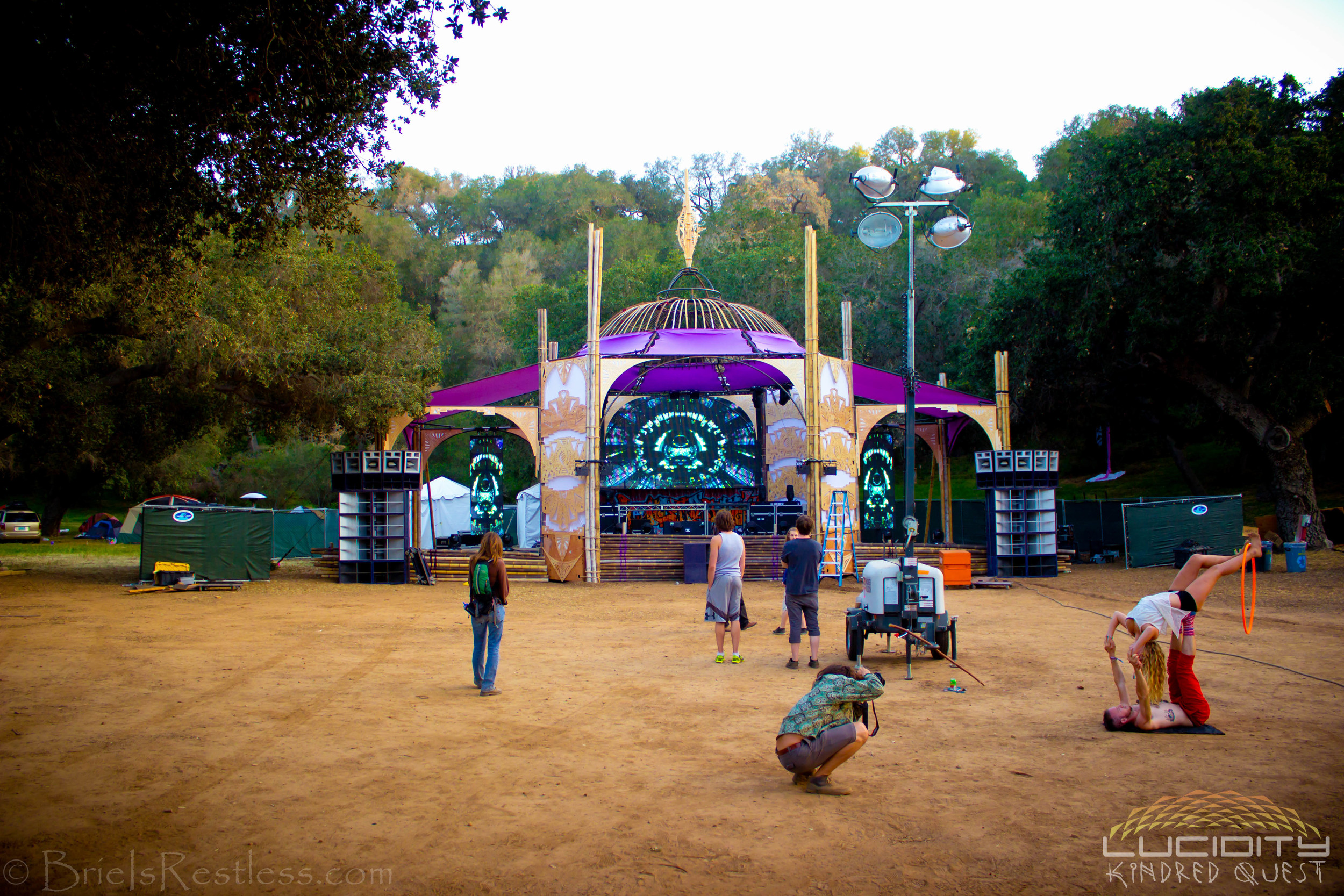 Lucid Stage - Main Stage - Outdoors - Dancing - EDM - Luciditiy - Kindred Quest - Build - April 2015 (1 of 1)-1.jpg