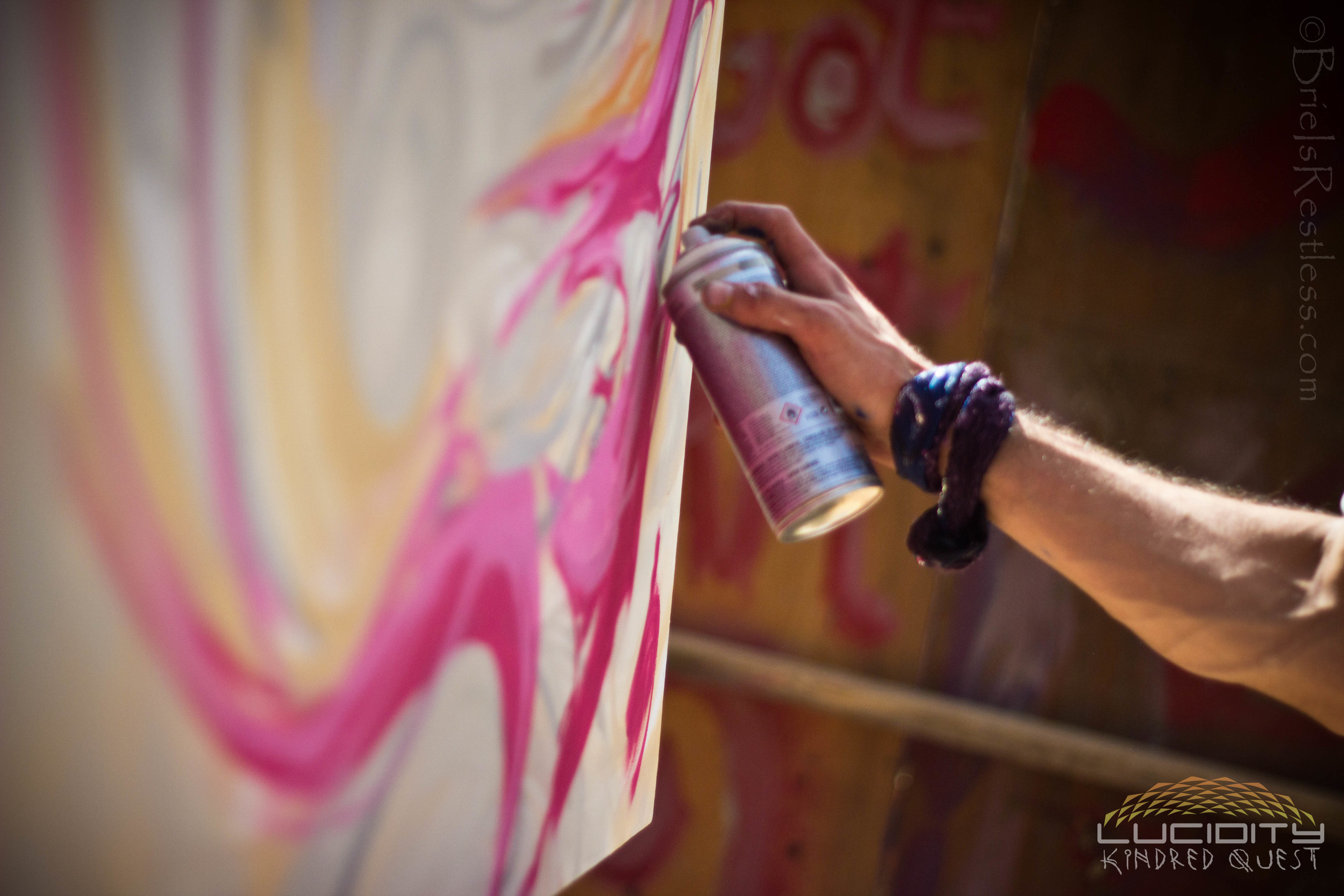 Spray Paint - Live - Tricksters Playground - Luciditiy - Kindred Quest - Build - April 2015 (1 of 1) (1 of 1).jpg