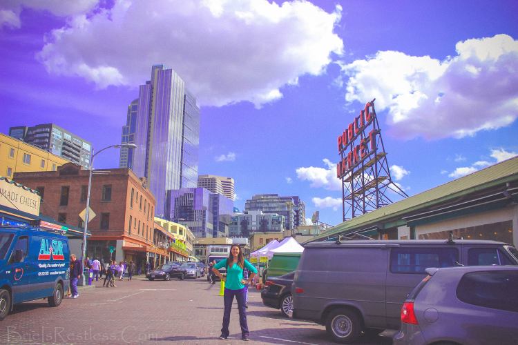 Seattle ,  Washington  -  The Pike Place Market