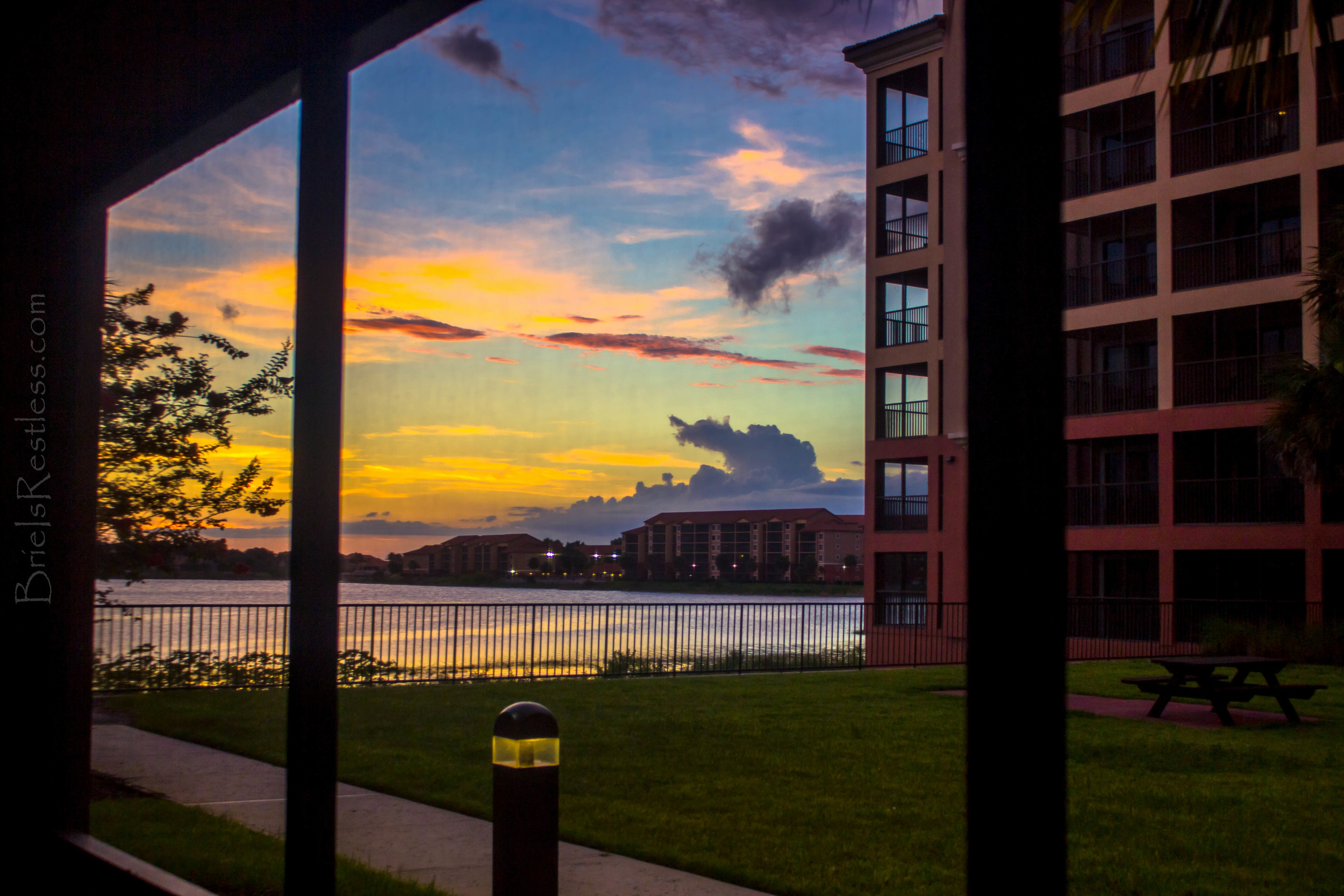 Sunset at Westgate Resorts - Orlando Florida - June 2015 (1 of 1)-2.jpg