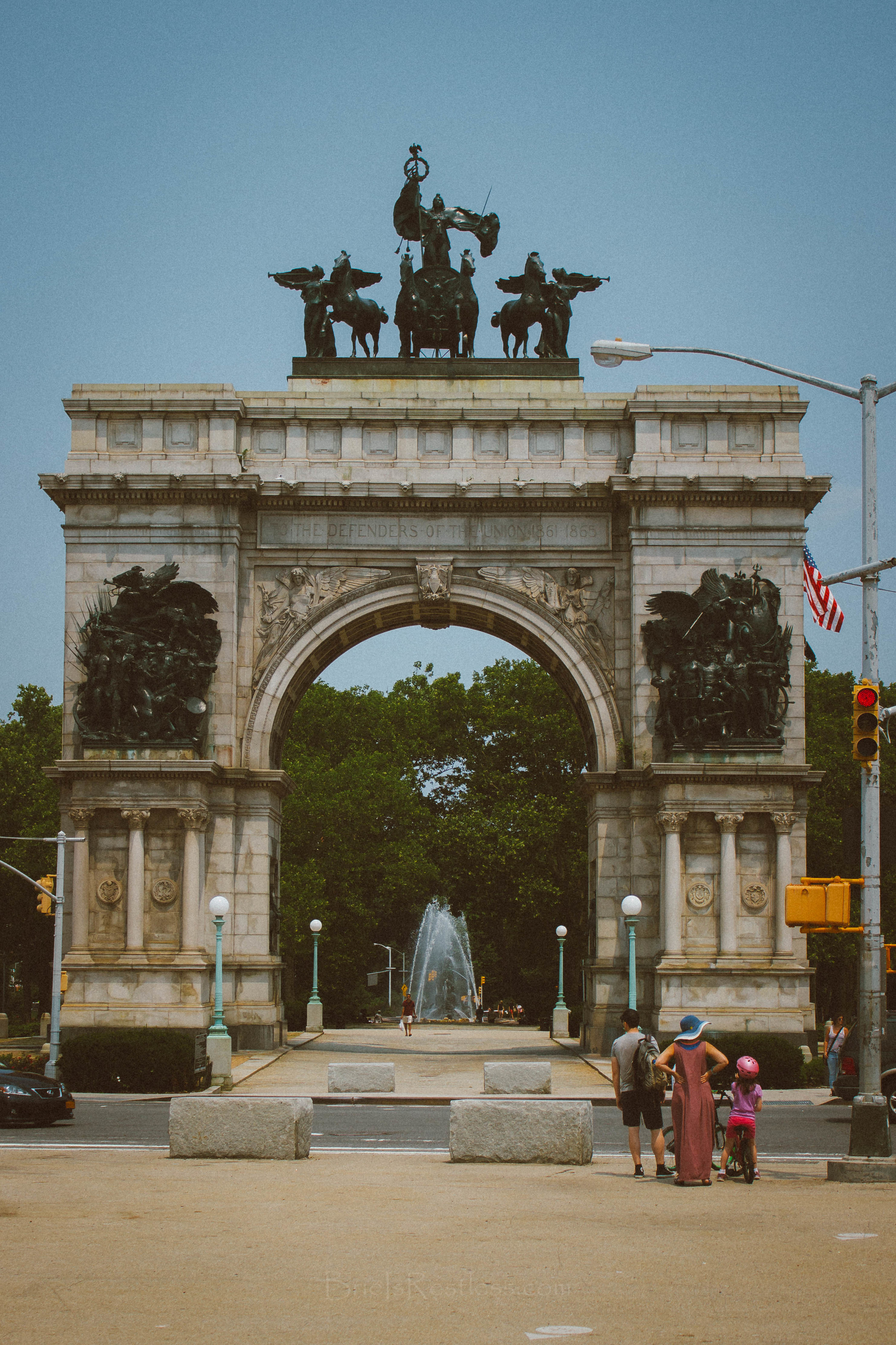 Soldiers and Sailors Memorial Arch - NYC - Prospect Heights (1 of 1).jpg