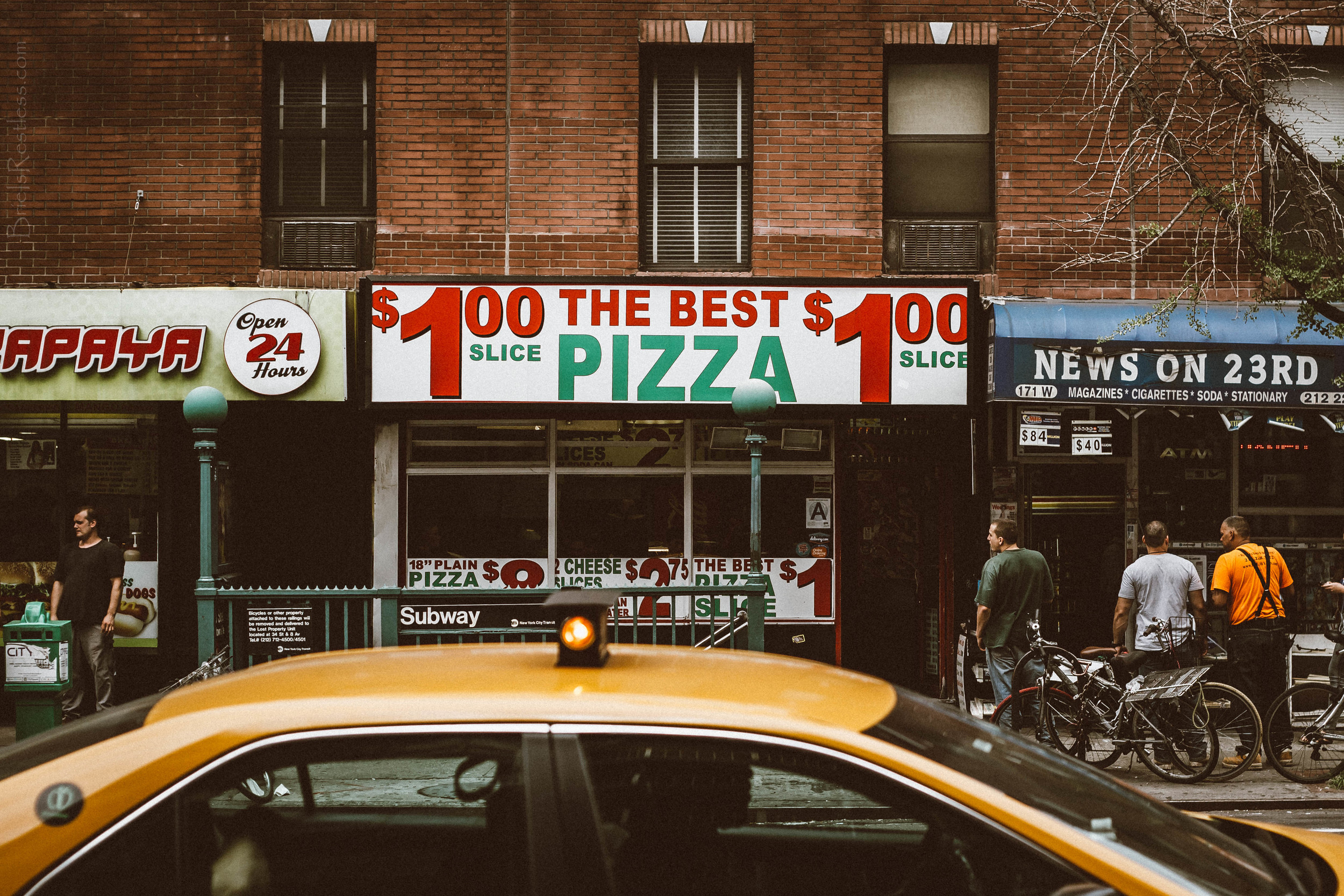 Dollar Pizza In Manhattan - NYC.jpg