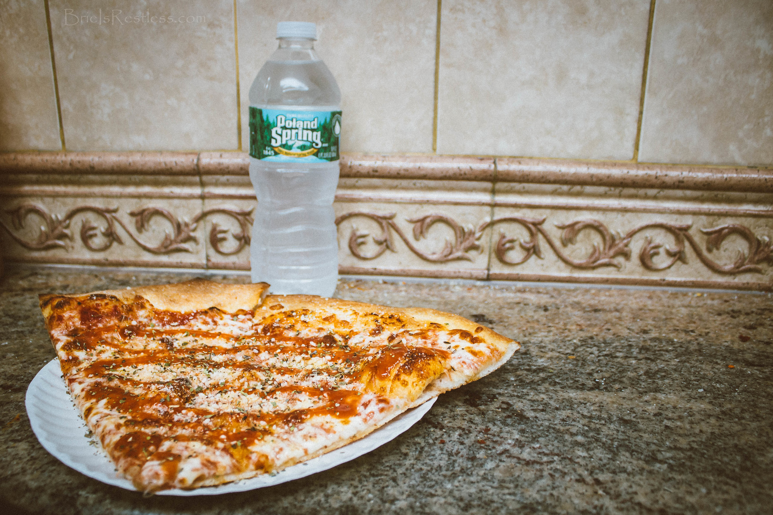 Two & a Water - Dollar Pizza in NYC.jpg