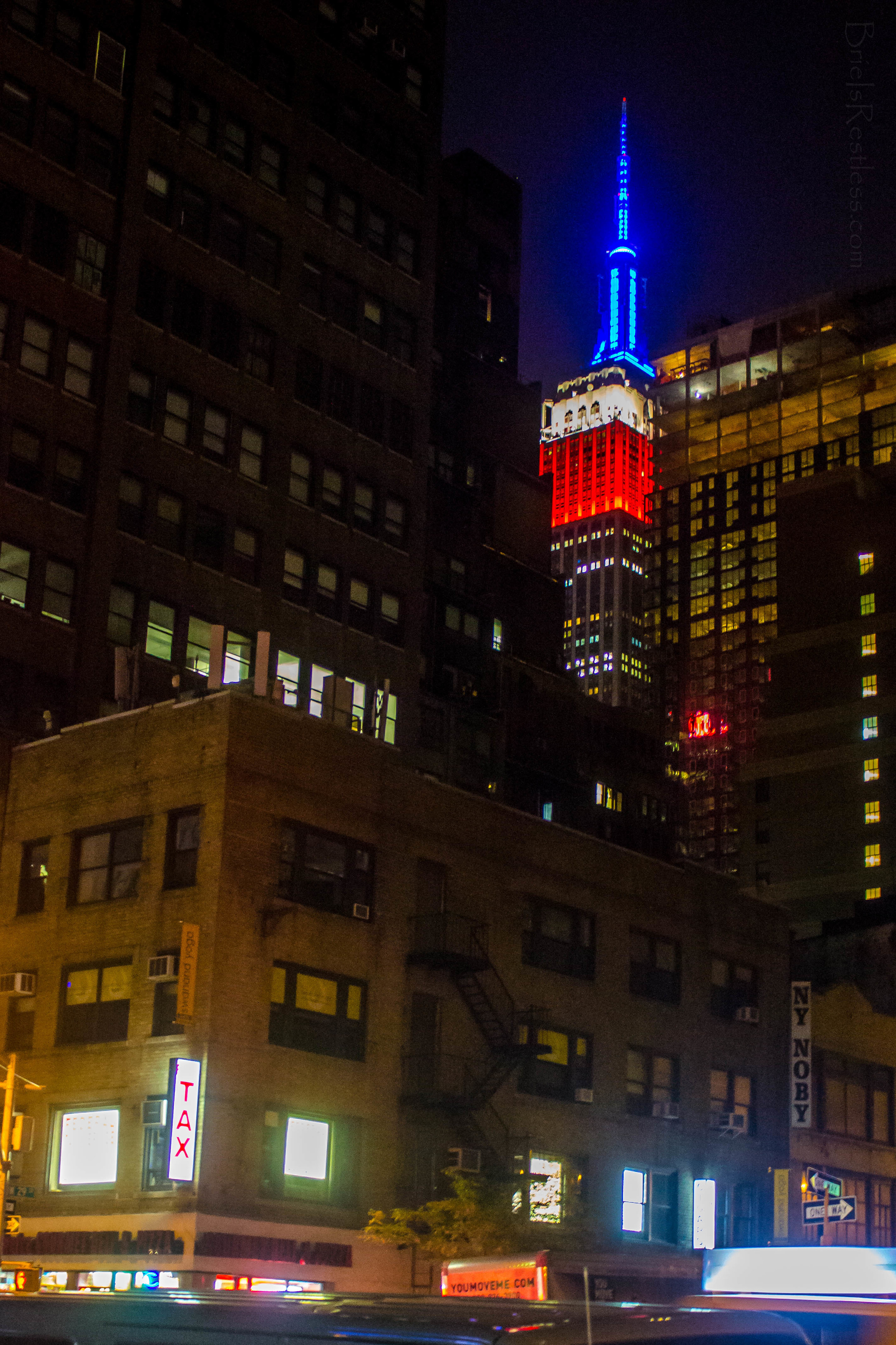 Empire State Building - Fourth Of July - NYC.jpg
