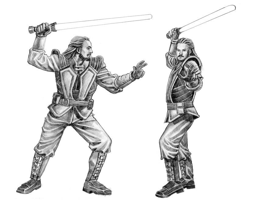 Figurine design for Star Wars Miniatures