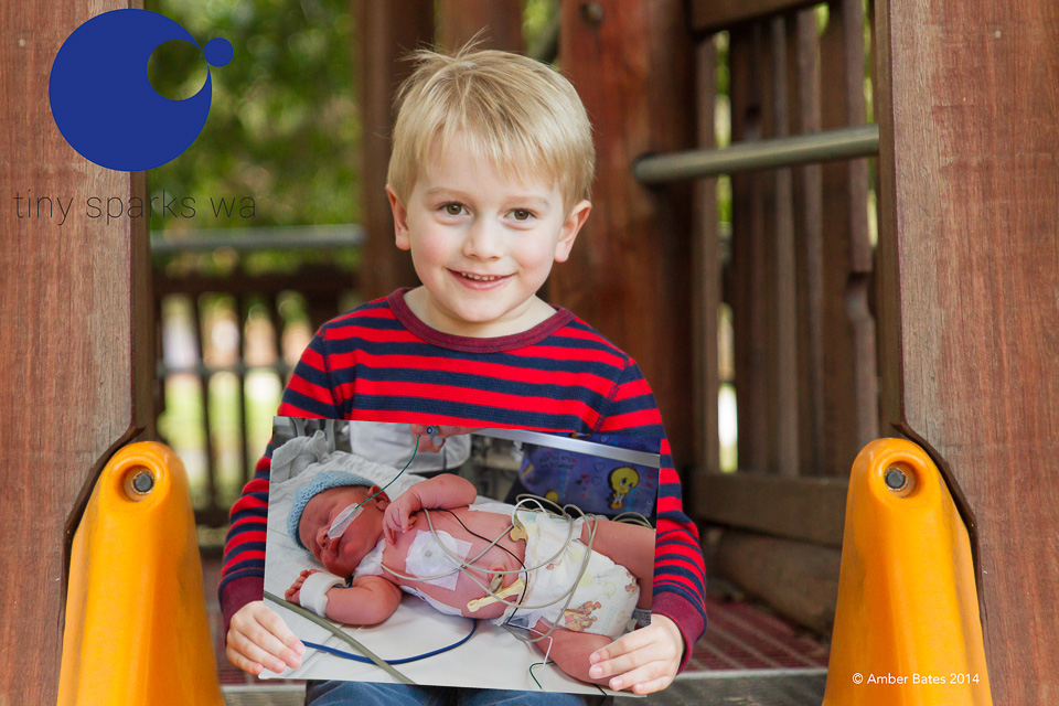 Noah born at term with a complete heart block requiring admission to NICU and fitting of a pacemaker.