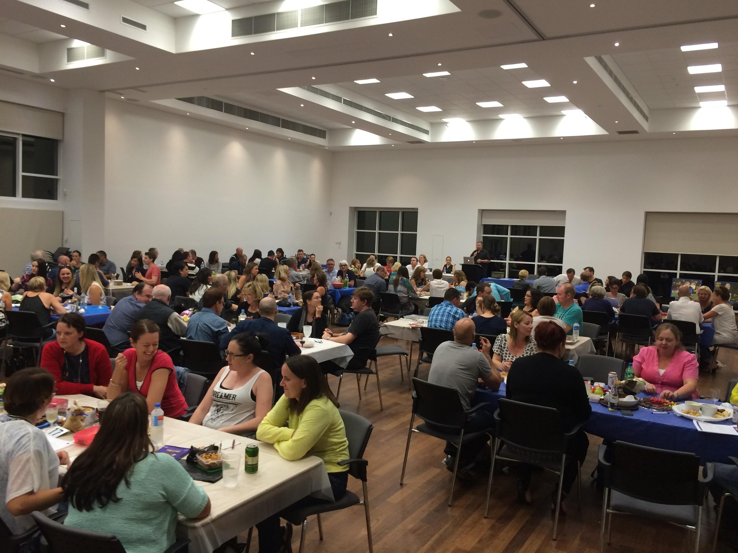 Quiz Night underway at the South Perth Community Hall