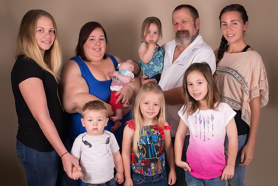 First family photo - ImageCredit: Samantha May Photography