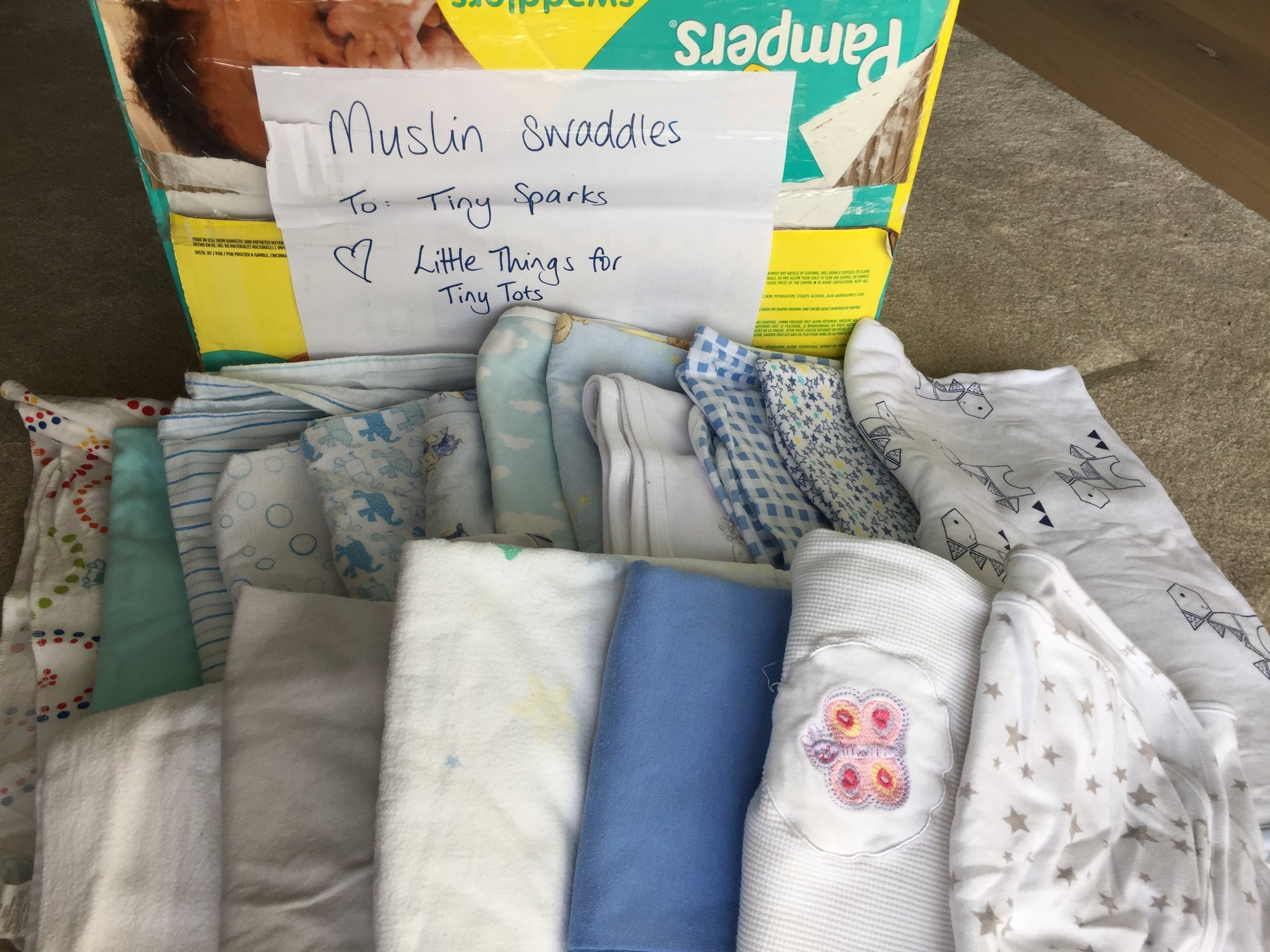 The contents of just one nappy box, so generous!