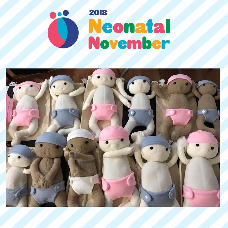 Loving Kreations - For Premmie keepsake dolls purchased directly through Loving Kreations over the month of November, $10 will be donated.
