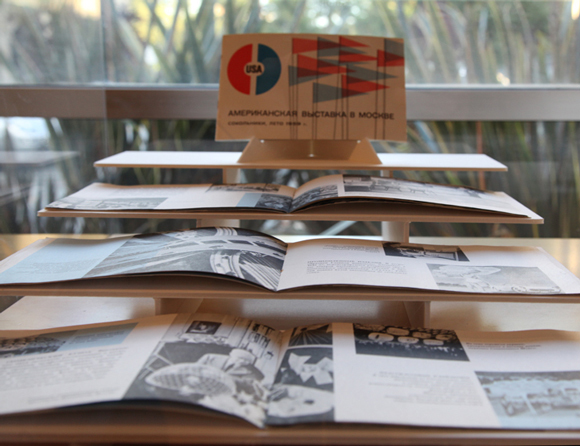 Display of Booklets from the Moscow Exhibition