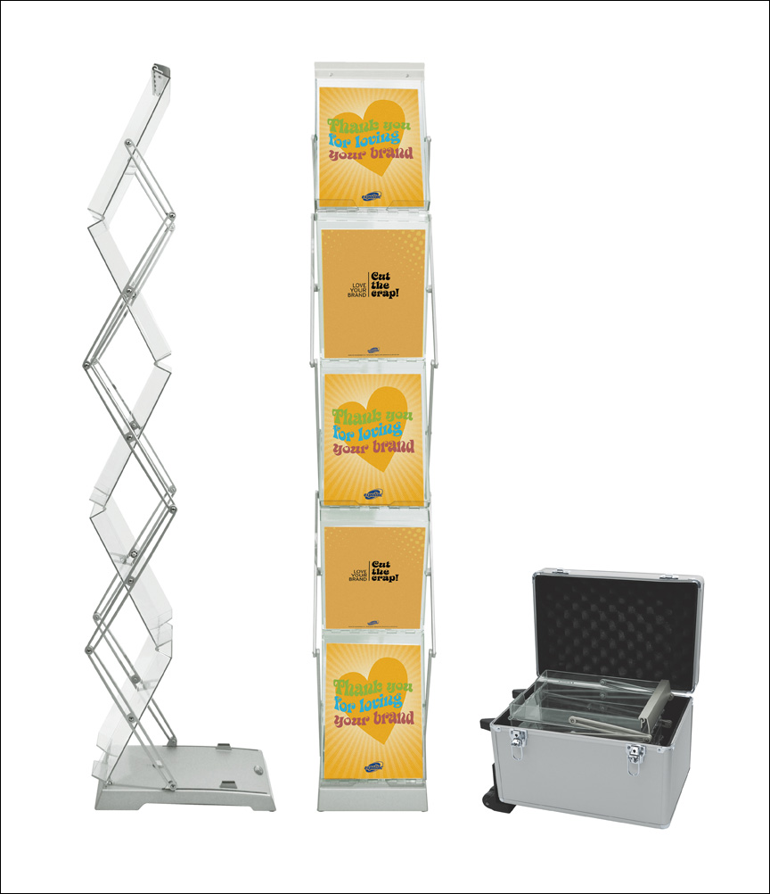 Expolinc Brochure Stand Double.