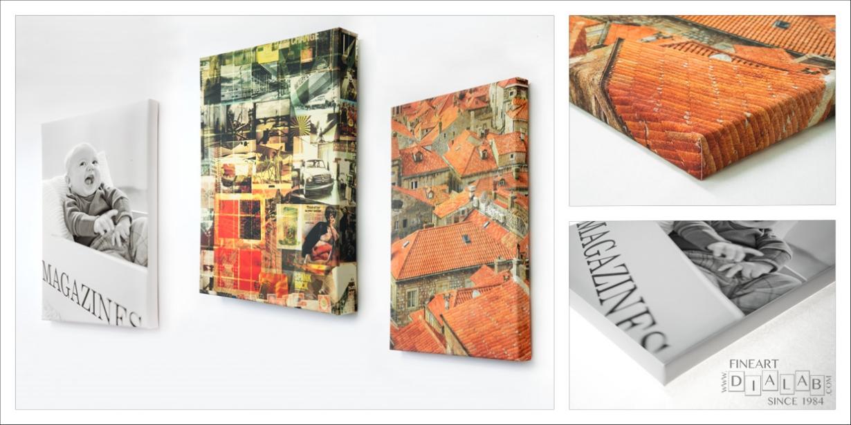 HAHNEMÜHLE Framed Canvas Prints