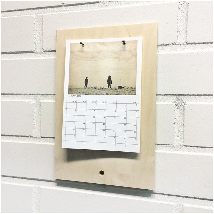 Kalenteri seinällä