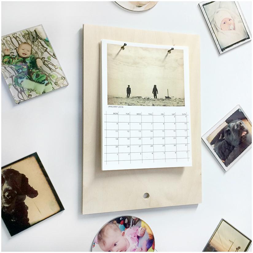 Kalenteri jääkapissa