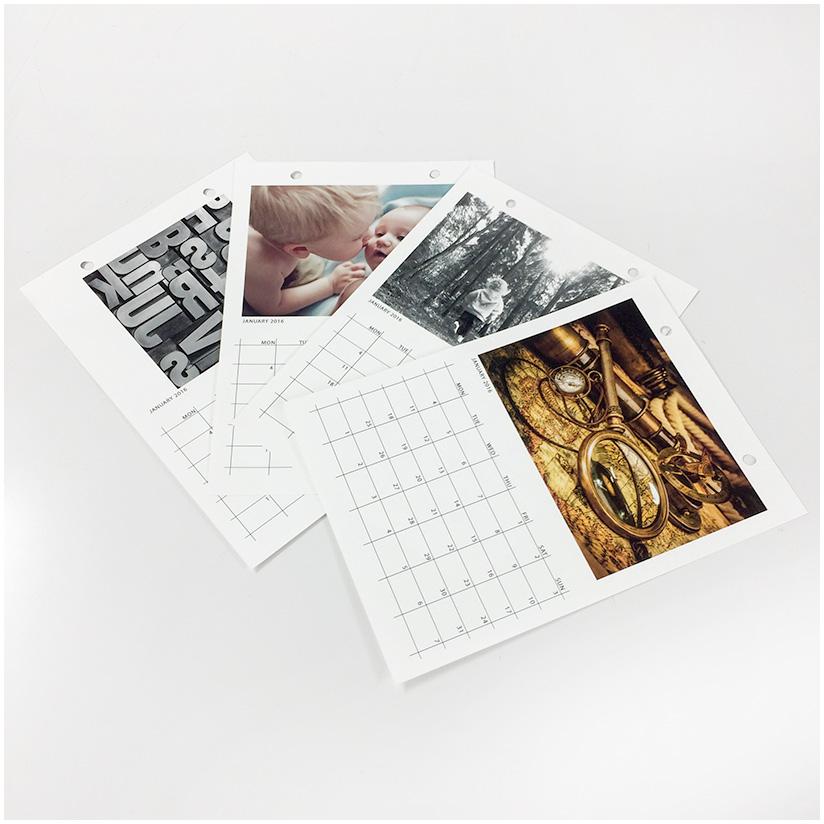 Kalenteri omilla kuvillasi