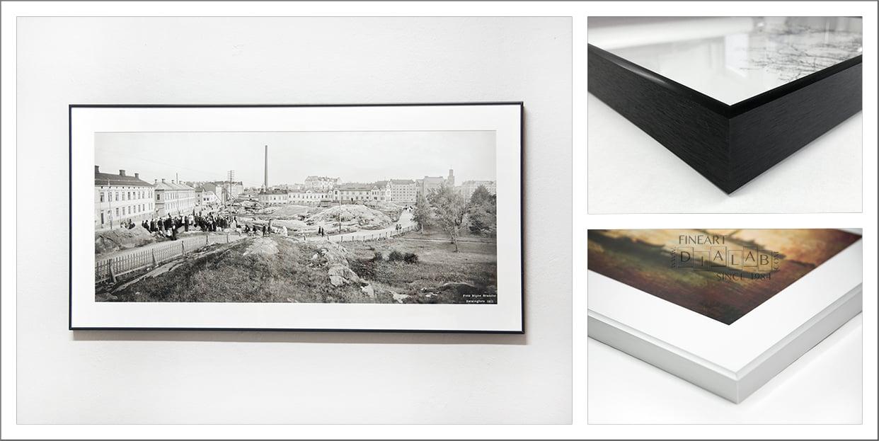 Framed prints (Nielsen / U-profile / box frame )