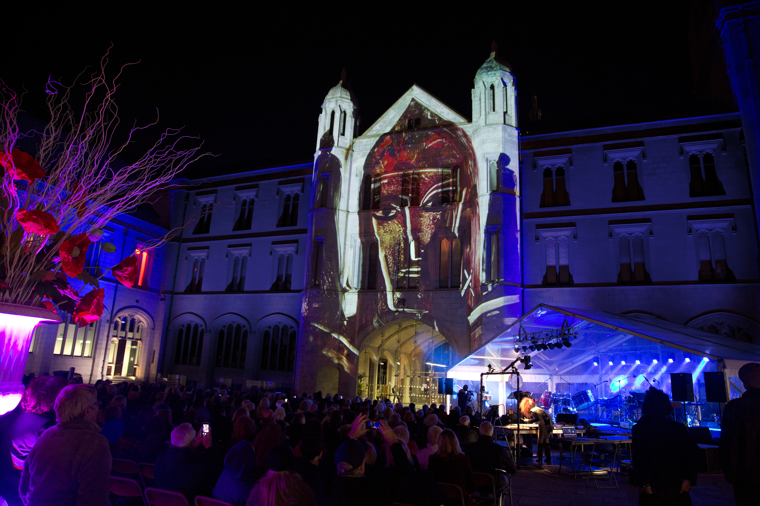 1-The Animotion Show -Maria Rud and Evelyn Glennie - Image taken at Marischal College Aberdeen, September 2014 - photo credit Douglas Robertson.jpg