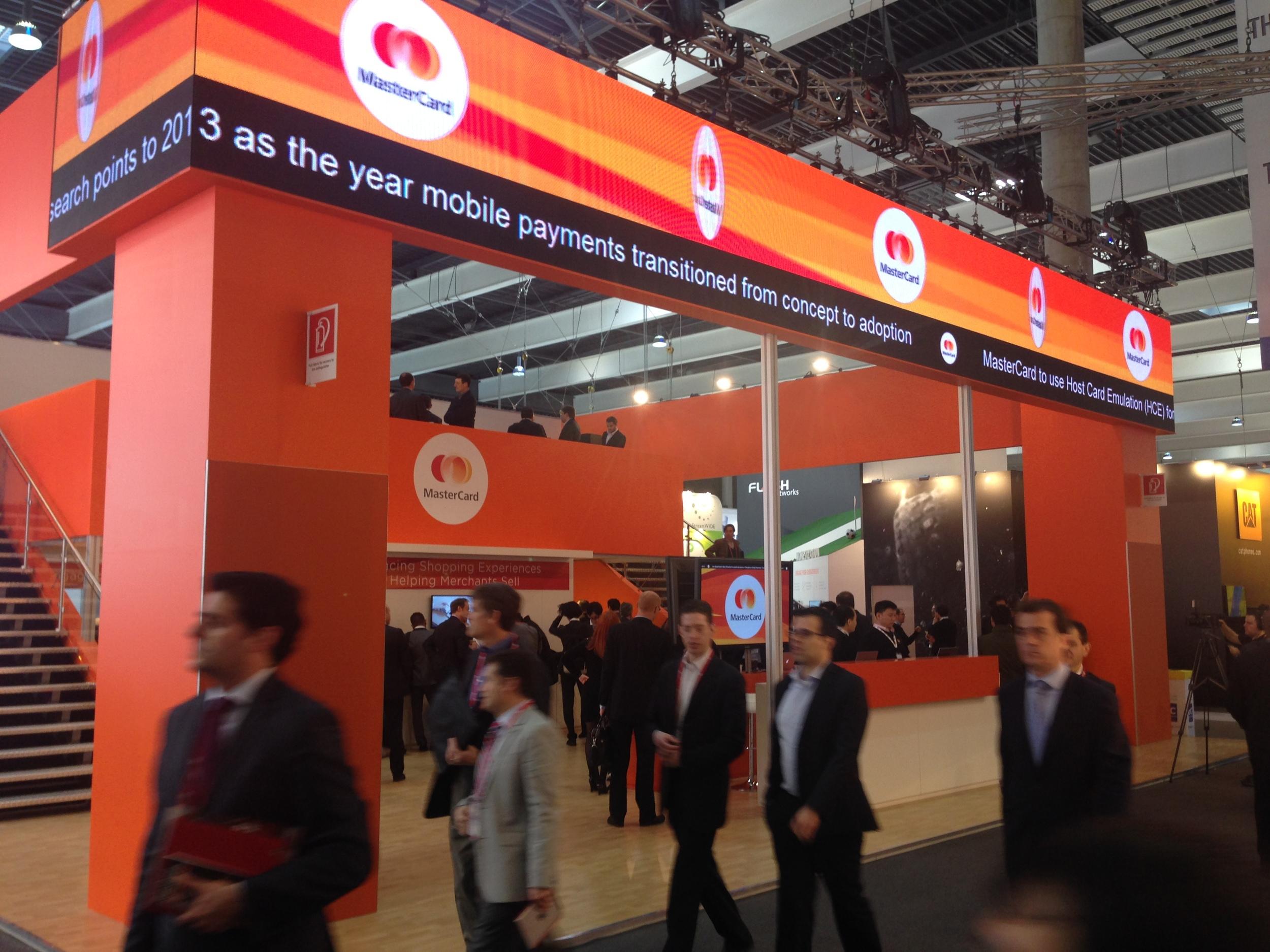MasterCard at Mobile World Congress 2014