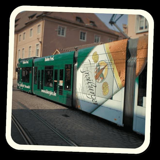 Mit der Strassenbahn zum GANTER Brau-Erlebnis