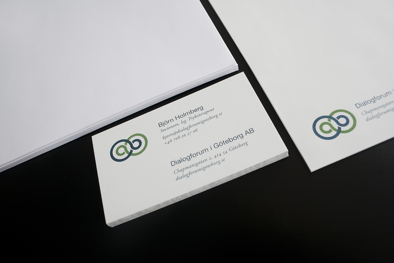 Corporate identity - Dialogforum.