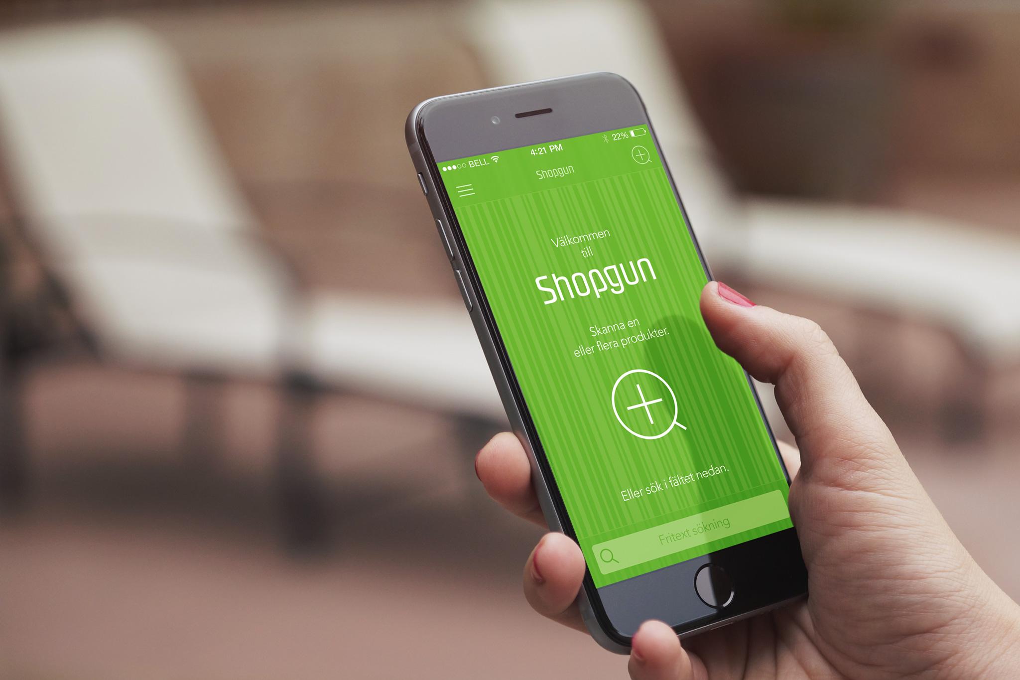 Shopgun/app design.