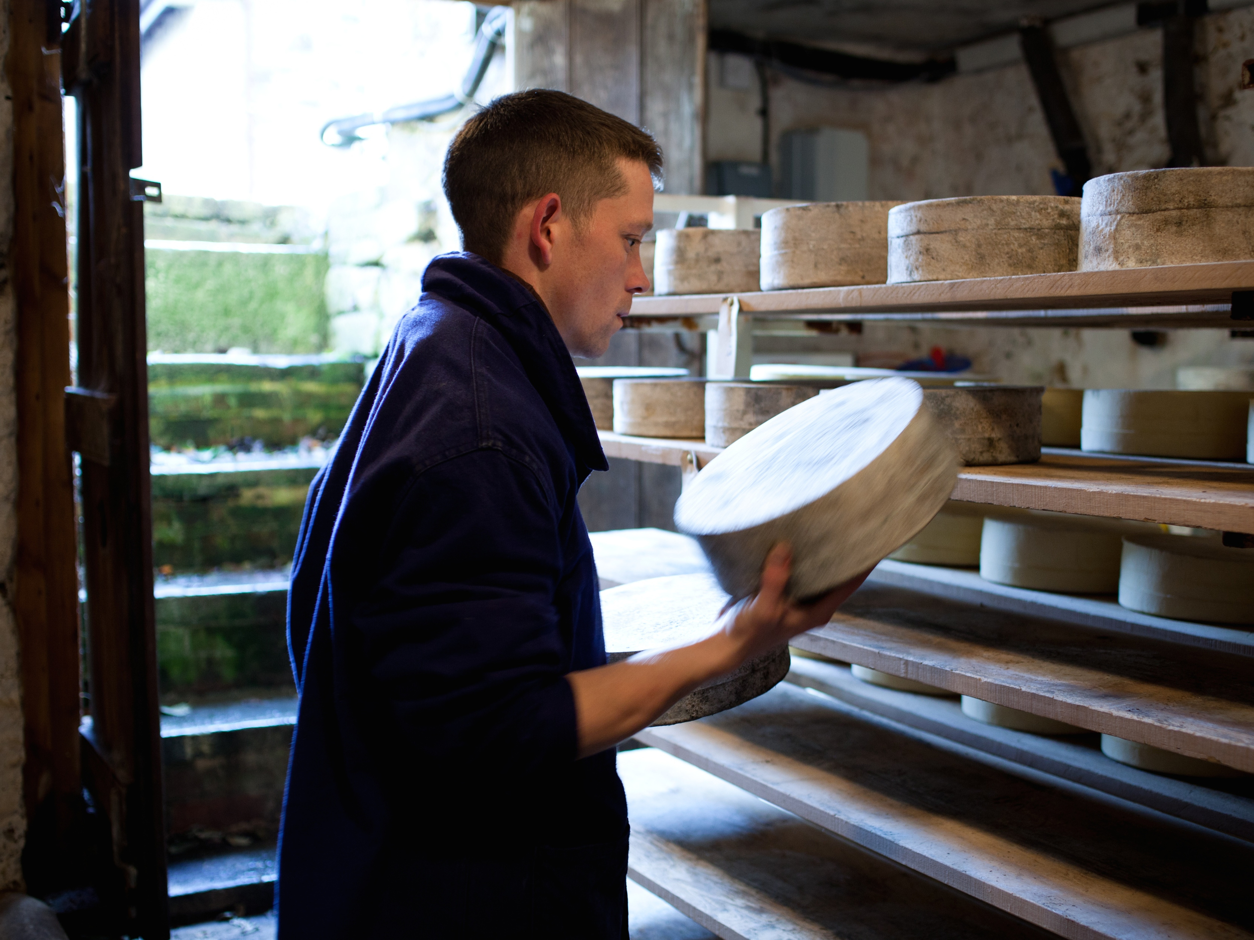 Jason Coles – Shop Manager / Cheesemaker