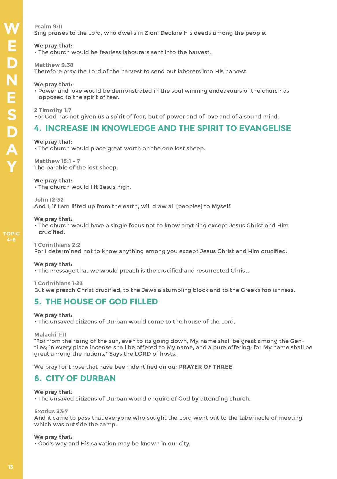 Durban Christian Centre - Intercession — Durban Christian