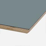 LINOLEUM GRAU-BLAU Schichtholzkante geölt Multiplex / 30 mm