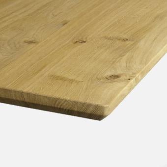 WILDEICHE Platte geölt Eiche / 32 mm