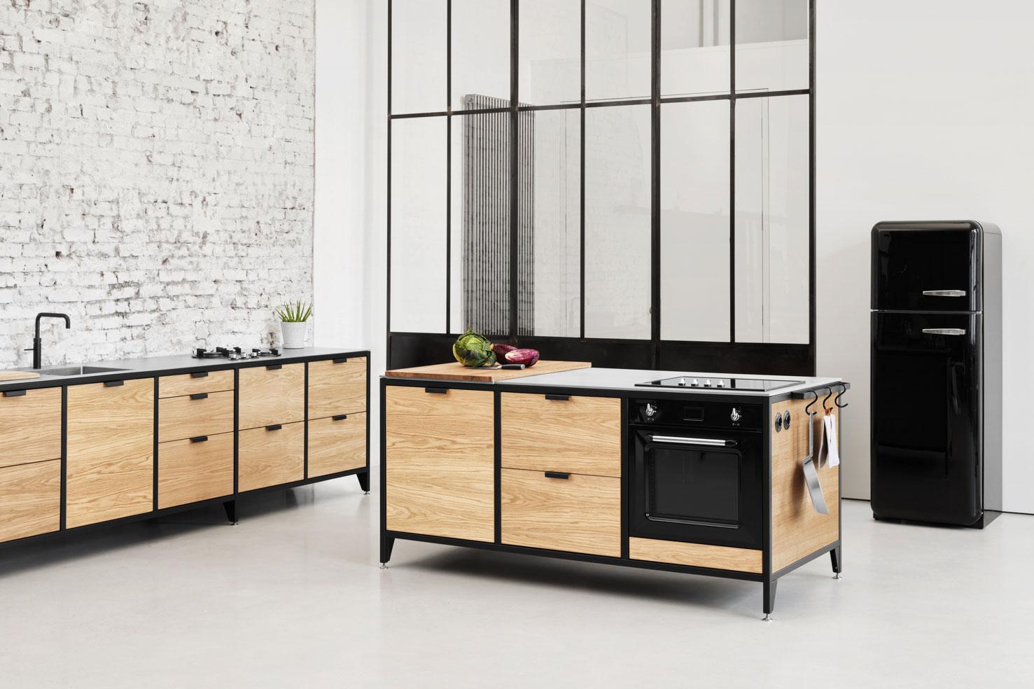 WERK Modulküche im Industrial Style — JAN CRAY – Möbel und ...