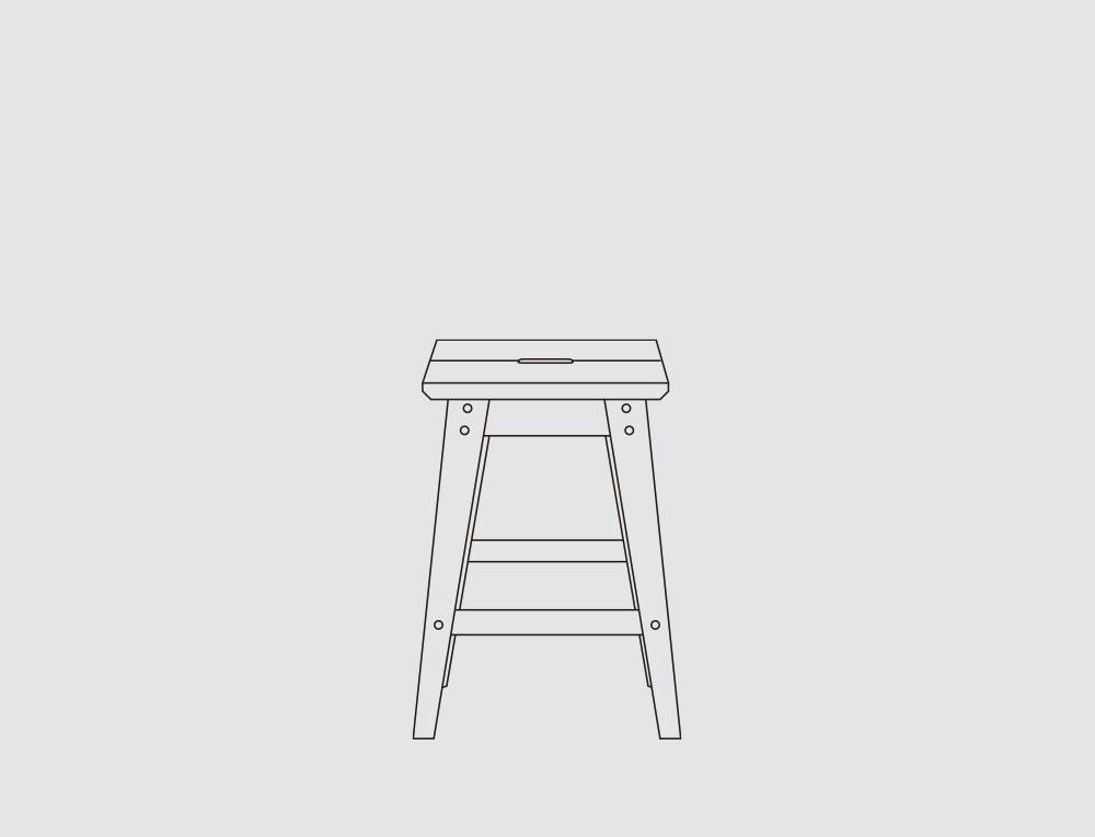 Küchenhocker -