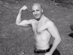 DR. MICHAEL WALD AT AGE 51 AS OF FEBRUARY 9TH, 2017! PRACTICING WHAT HE PREACHES.