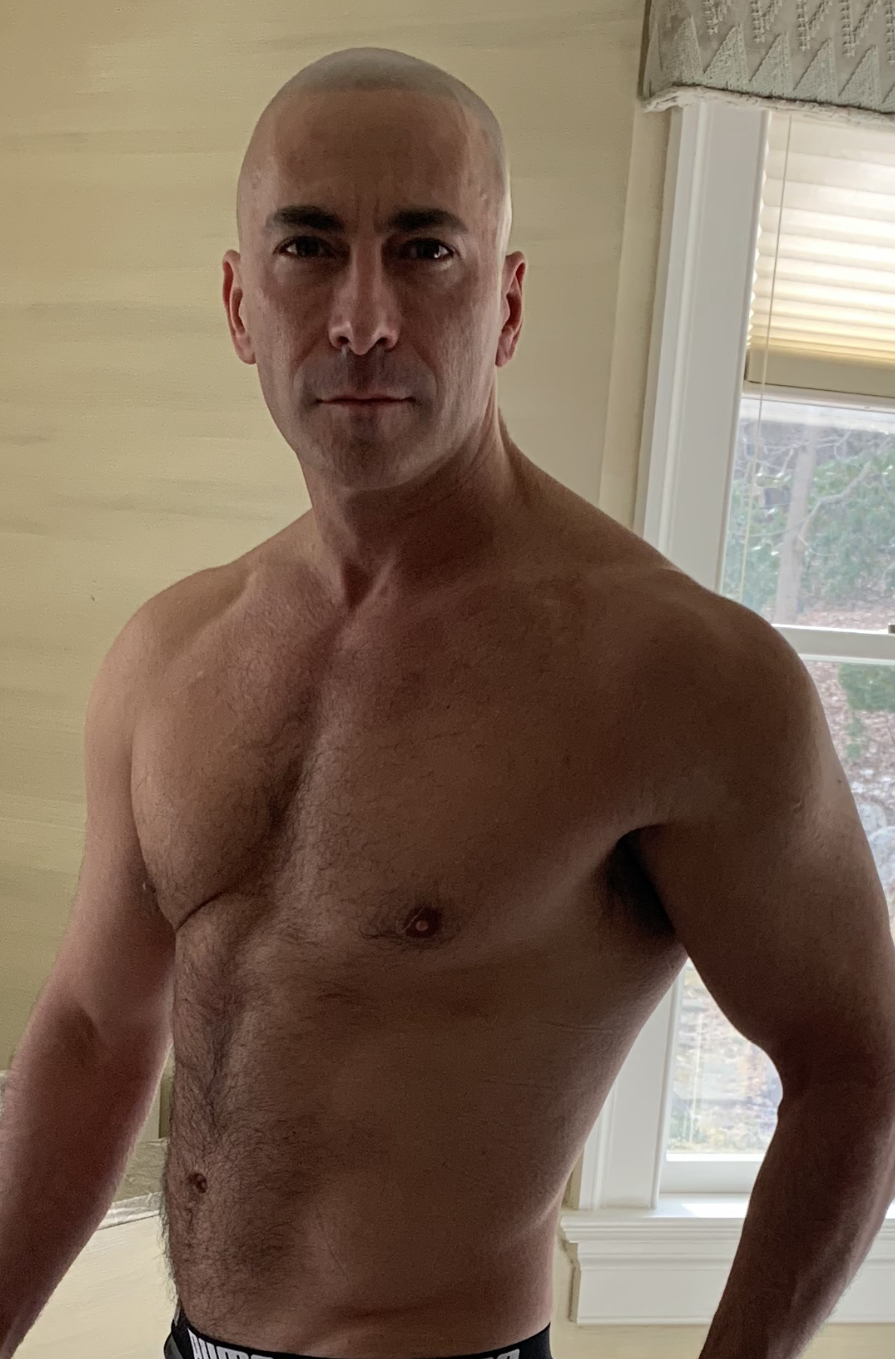 Dr. Wald at age 53 (2019) practicing what he preaches! -