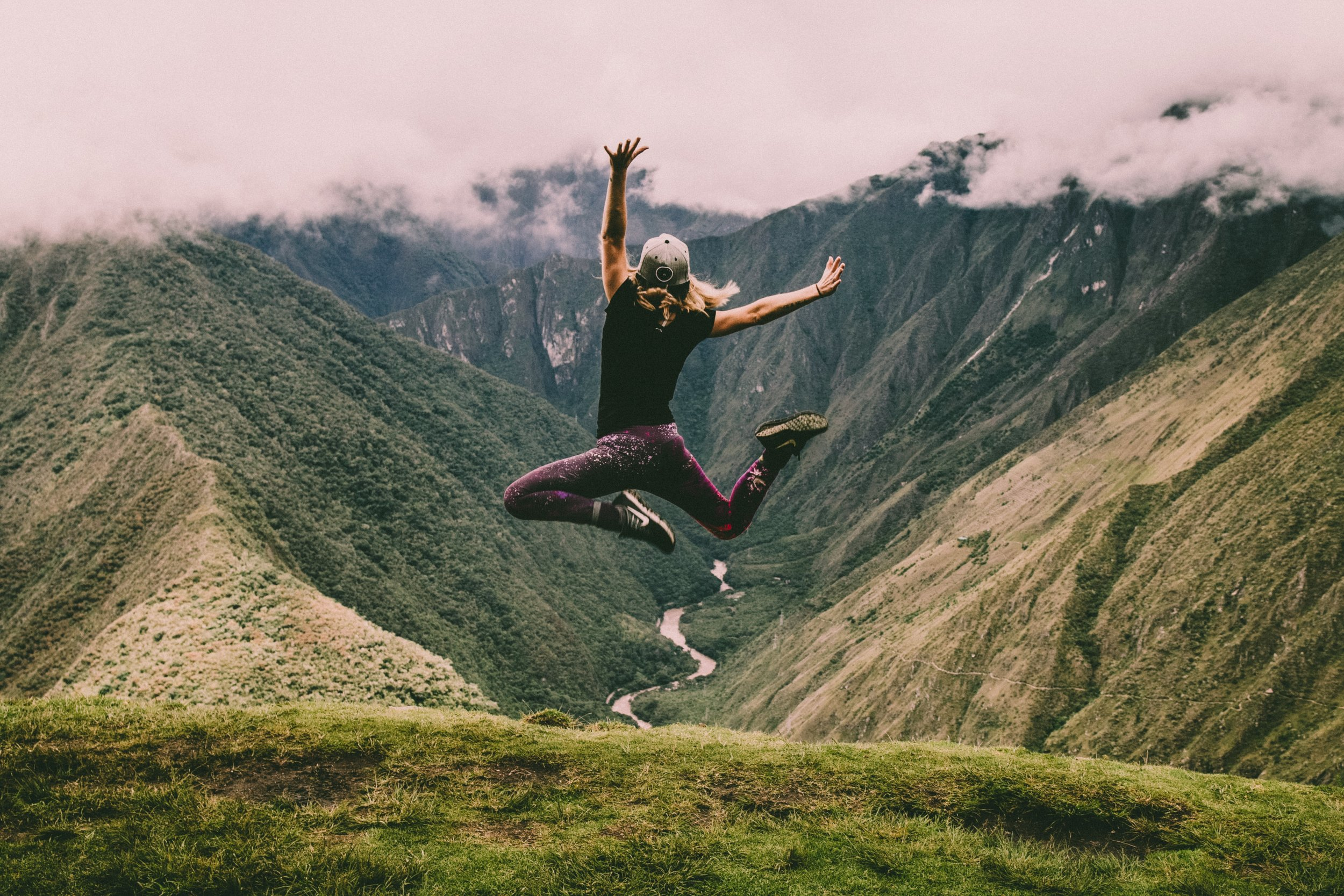 Fitness is freedom! You can do this! - Dr. Wald knows what to do to get you into the best shape of your life. This photo of a woman jumping for joy is real. Maybe you can't jump as high, but you can learn to jump and love life.