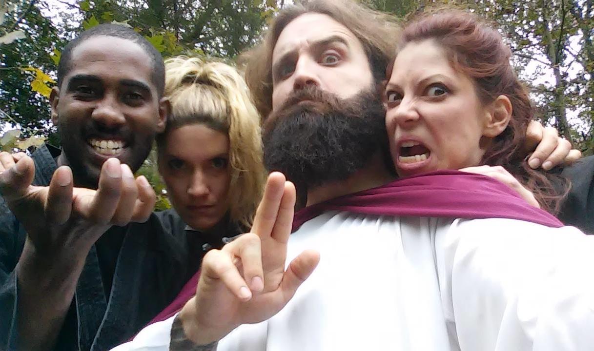 Jesus Christ: Intergalactic Kung Fu Messiah - Desktop Comedy / Benjamin Ross (2015)